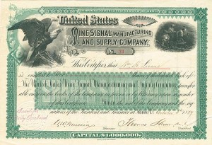 United States Mine Signal Manufacturing & Supply Company