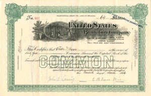 United States Plantation Company - SOLD