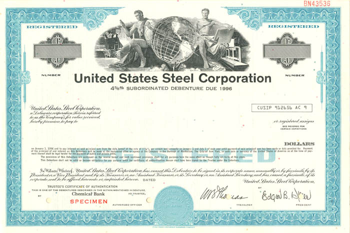 United States Steel Corporation - SOLD