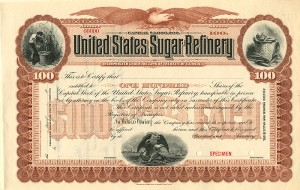 United States Sugar Refinery - SOLD