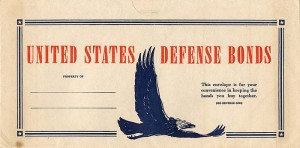 U.S. Defense Bonds Envelope