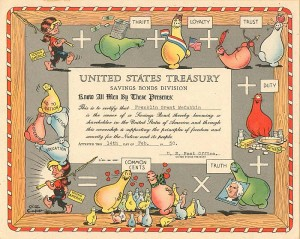 United States Treasury by Al Capp