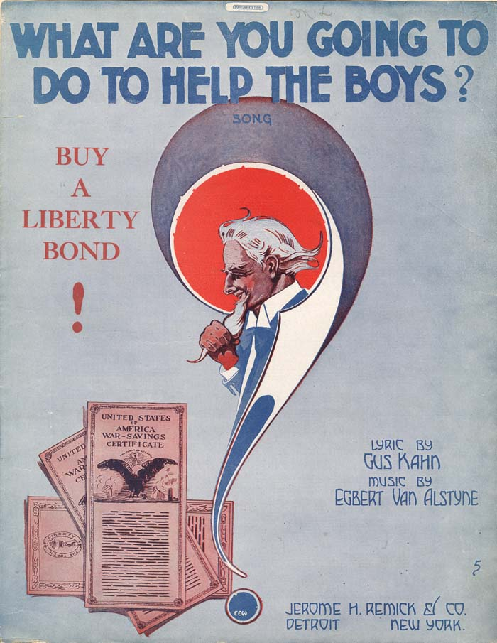"""What Are You Going To Do To Help The Boys? Music Sheet"