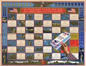 "Wall Chart to ""Buy More War Savings Stamps"""