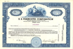 U.S. Vermouth Corporation