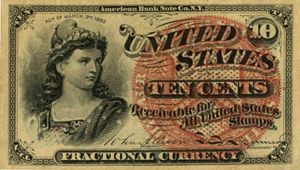 Fractional Currency - FR-1257