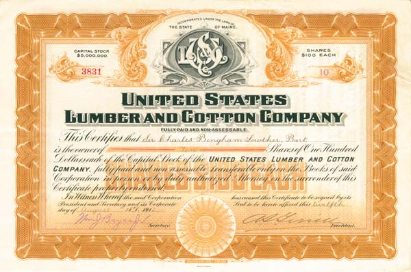 United States Lumber & Cotton Company