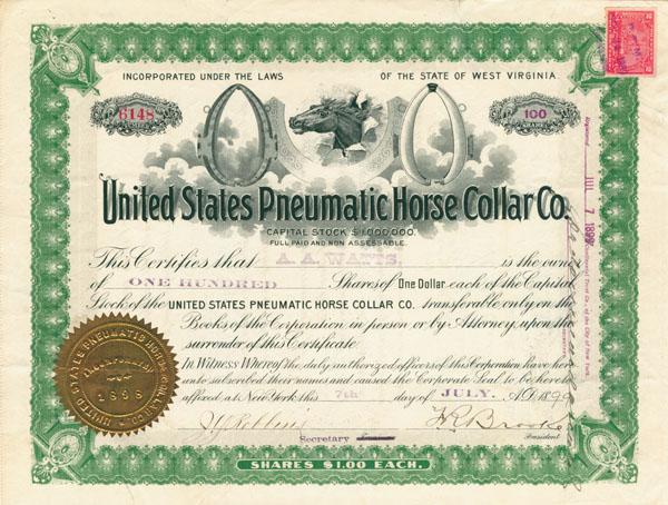 United States Pneumatic Horse Collar Company