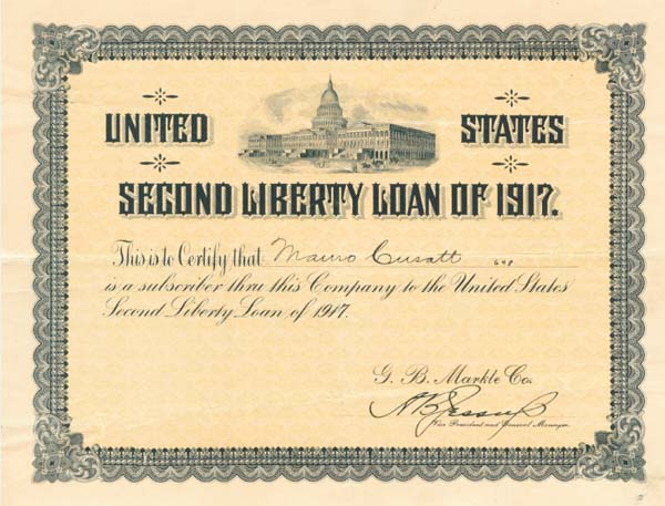 United States Second Liberty Loan of 1917