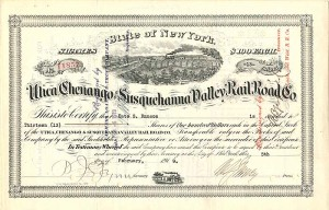 Utica, Chenango & Susquehanna Valley Railroad Co.