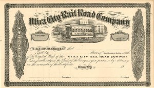 Utica City Rail Road Company