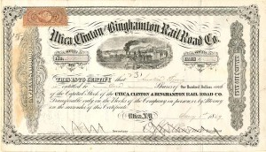 Utica, Clinton and Binghamton Railroad Co.