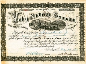 J. H. Wade - Valley Railway Co