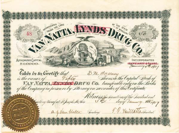 Van Natta Drug Company - SOLD