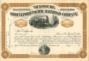 Vicksburg, Shreveport and Pacific Railroad Company