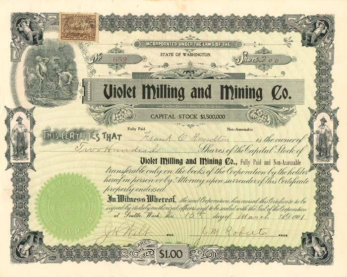 Violet Milling and Mining Co.
