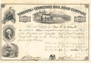 Virginia and Tennessee Rail Road Company