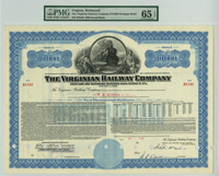 Virginian Railway Company $10,000 Bond