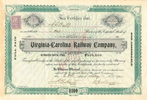 Virginia=Carolina Railway Company