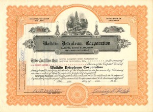Walklin Petroleum Corporation