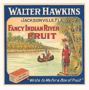 Fruit Crate Label - Walter Hawkins