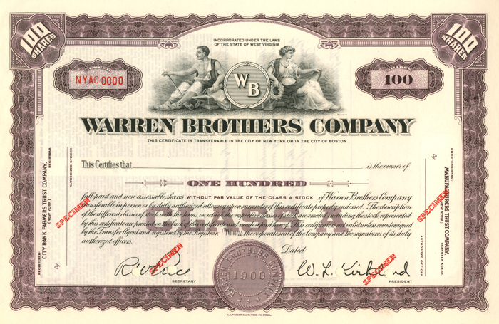 Warren Brothers Company
