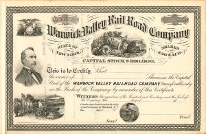 Warwick Valley Railroad Company