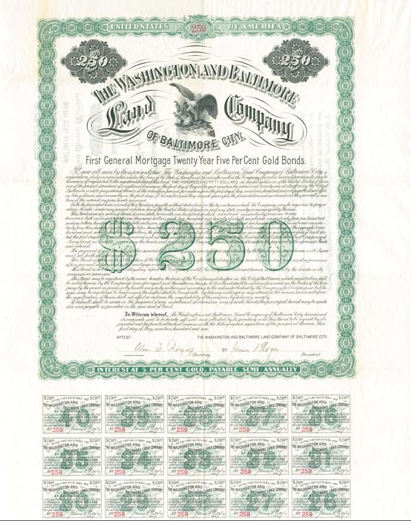 Washington and Baltimore Land Company