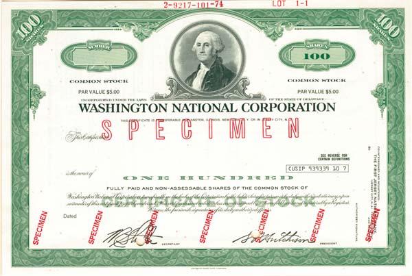 Washington National Corporation
