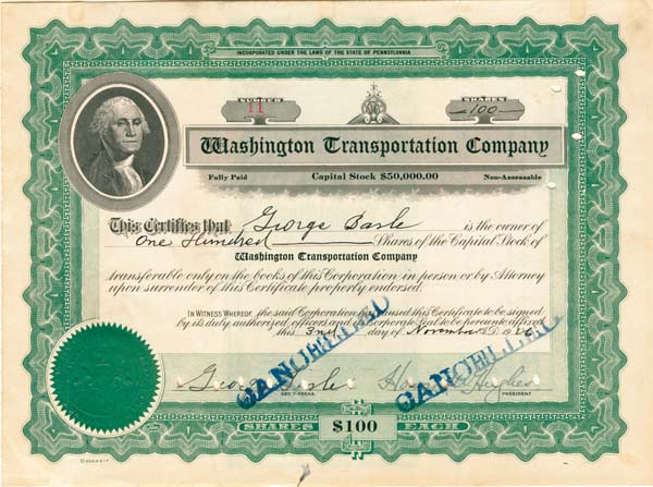 Washington Transportation Company