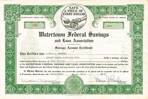 Watertown Federal Savings & Loan Association