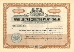 Wayne Junction Connecting Railway Company