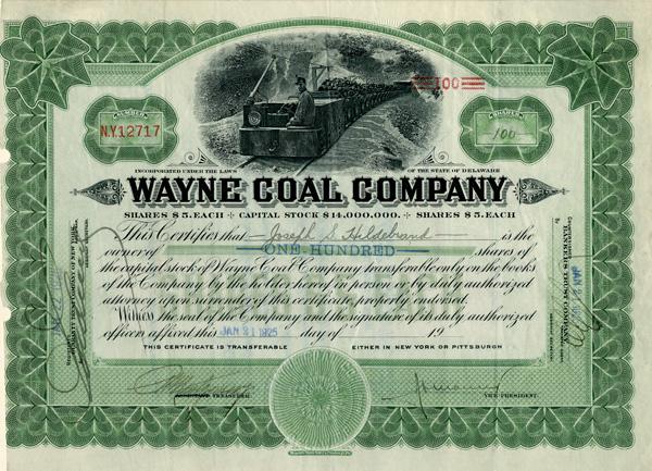 Wayne Coal Company