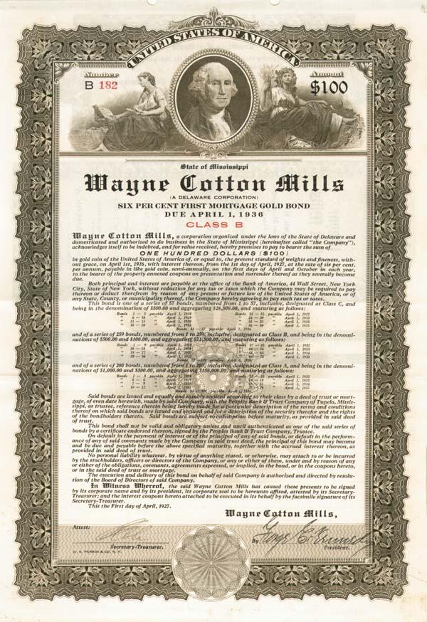 Wayne Cotton Mills