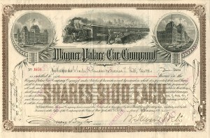 Wagner Palace Car Company - W. Seward Webb signs