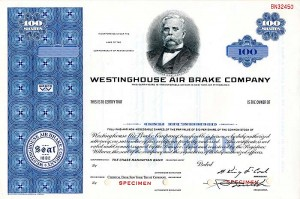 Westinghouse Air Brake Company - SOLD