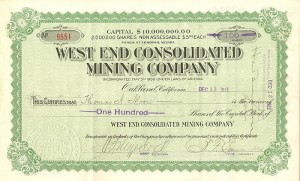 West End Consolidated Mining Company