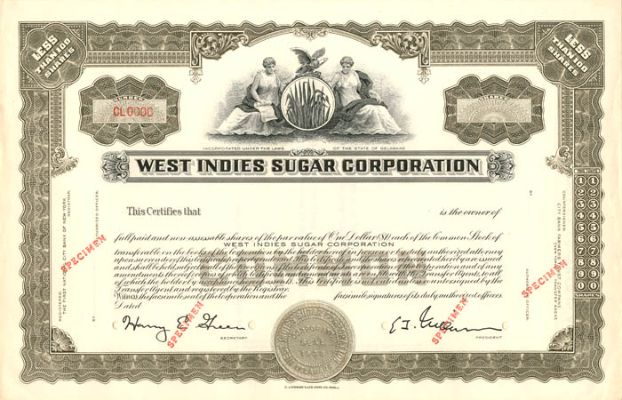 West Indies Sugar Corporation