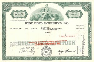 West Indies Enterprises, Inc.