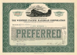 Western Pacific Railroad Corporation