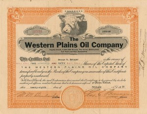 Western Plains Oil Company
