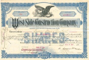 West Side Construction Company