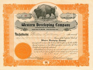 Western Developing Company - SOLD