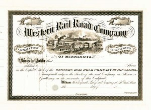 Western Railroad Company of Minnesota