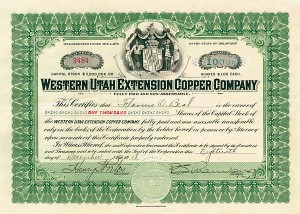 Western Utah Extension Copper Company