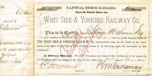 West Side & Yonkers Railway