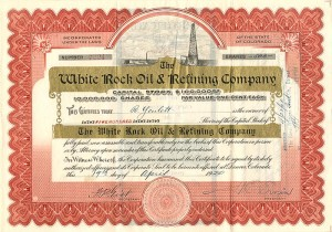 White Rock Oil & Refining Company
