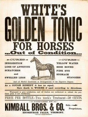 White's Golden Tonic Ad