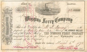Wiggins Ferry Company - SOLD