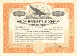 Willow Springs Syrup Company